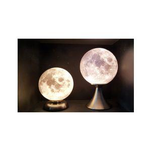 Lune 3D lampe sur pied bas 17 cm