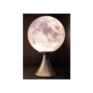 Lune 3D lampe sur pied haut 17 cm