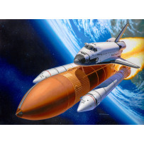 Maquette Navette Spatiale Discovery & Booster 1/144