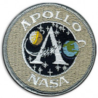 Ecusson Nasa Apollo A