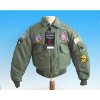 "Blouson Aviateur enfant ""TOP GUN FLIGHT JAC"""