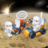 playmobile lune mission spatiale