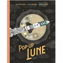 Le livre Pop-Up de la Lune