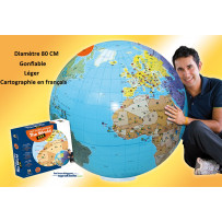 maxi globe gonflable grand format